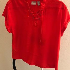 Chico's top size 1 fits 8-10